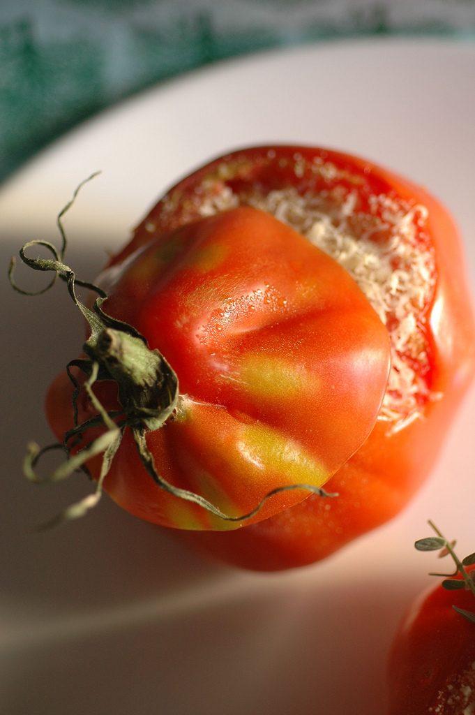 pomodoro ripieno di bulgur