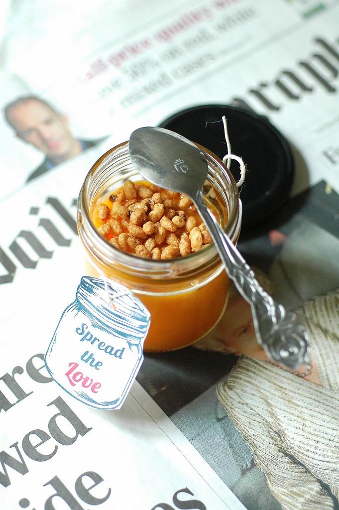 vellutata di zucca e crunchy caffè