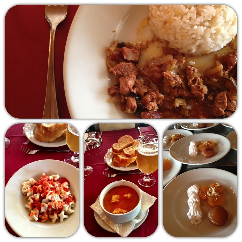 Cucina Turca: zuppa di pomodoro, manti e stufato di agnello con verdure