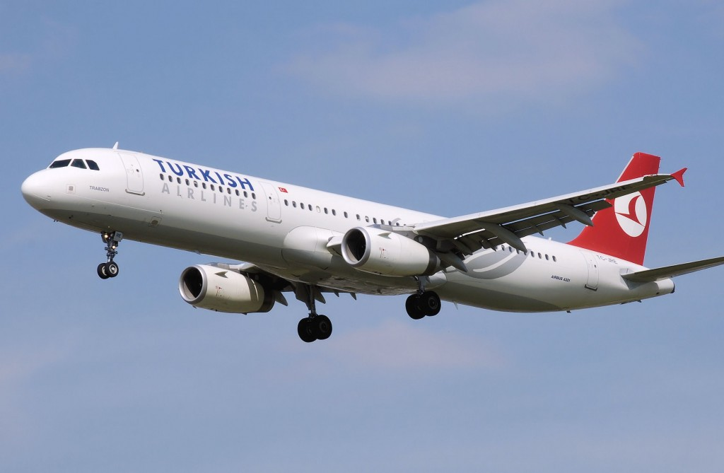 Turkish Airlines velivolo  A321
