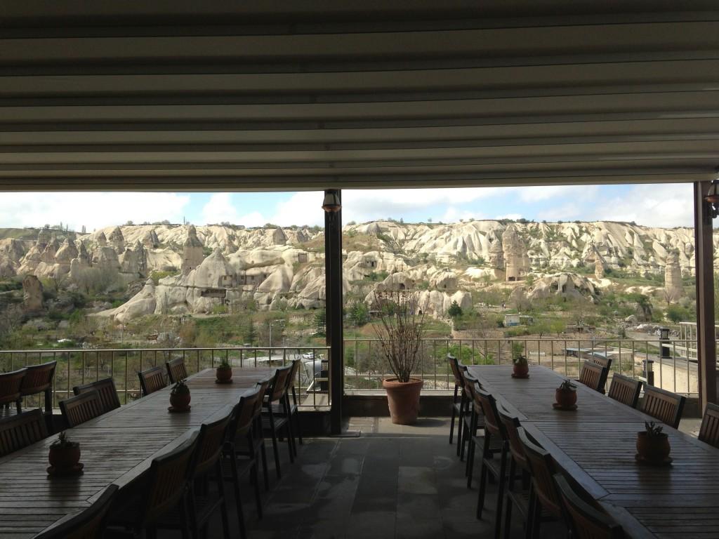 Goreme: ristorante con vista