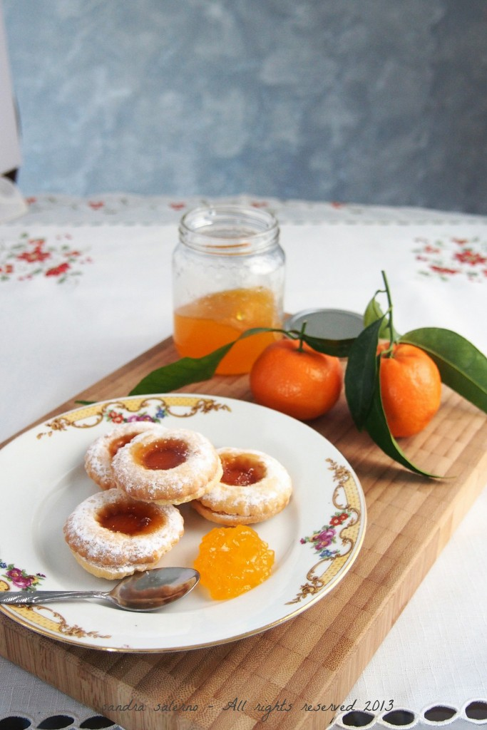 frolle di Natale e gelatina di mandarini