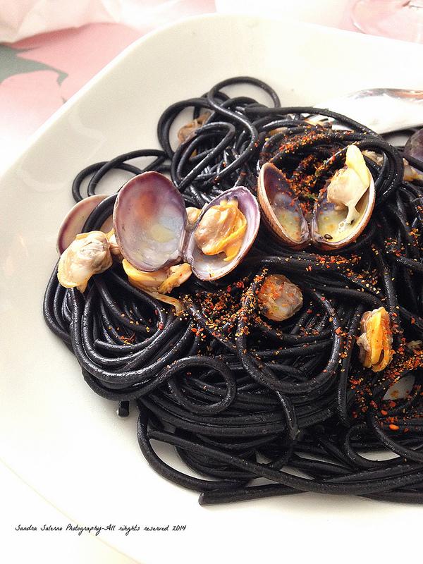 di vongole e spaghetti