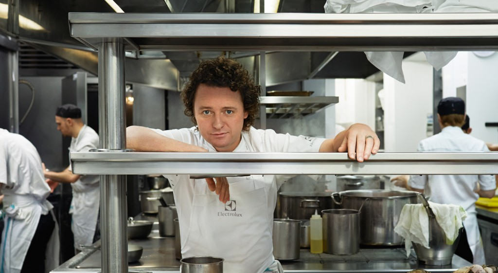 Electrolux The Secret Ingredient- chef Tom Kitchin