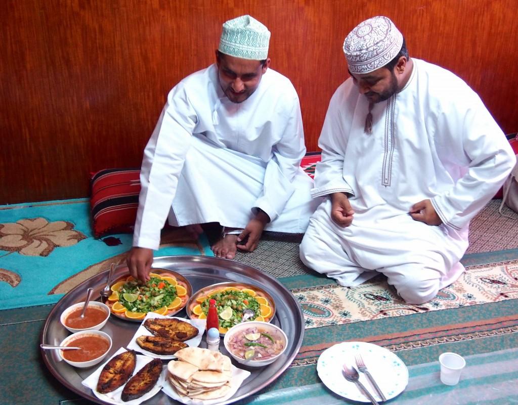Pranzo tipico Oman