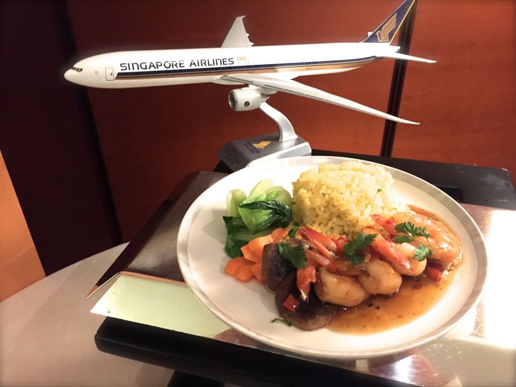 Alta Cucina Singapore Airlines