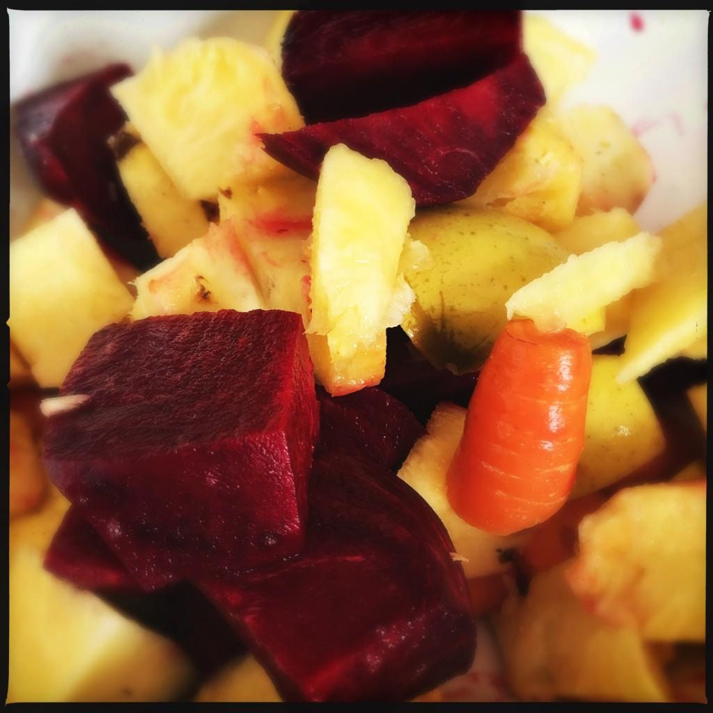 frutta e verdura per succo estratto