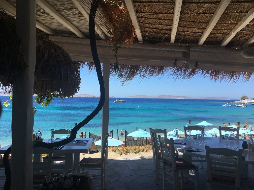 Hippie Fish Restaurant, Agios Ioannis beach Mykonos