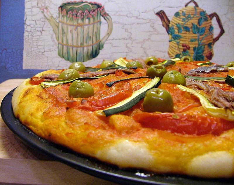 Un tocco di zenzero la sardenara for Pizzeria il tocco