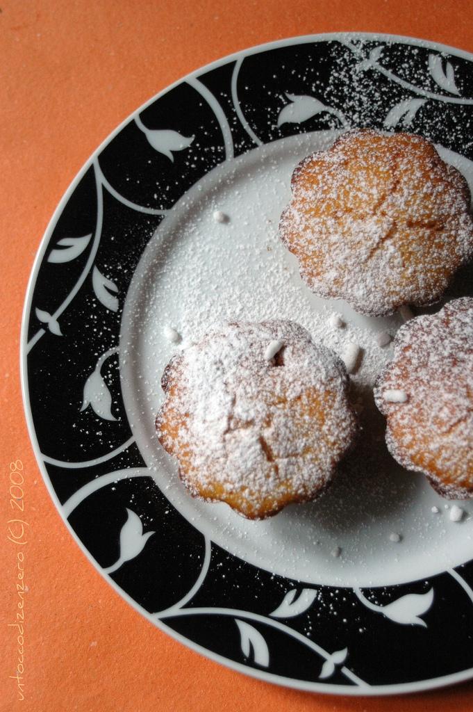 Tortini di zucca e cachi vaniglia