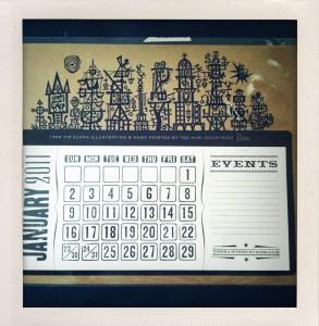 Sheffield Calendar 2011