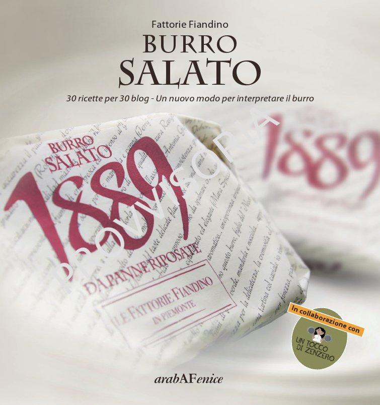 libro ricette Burro 1889 Salato
