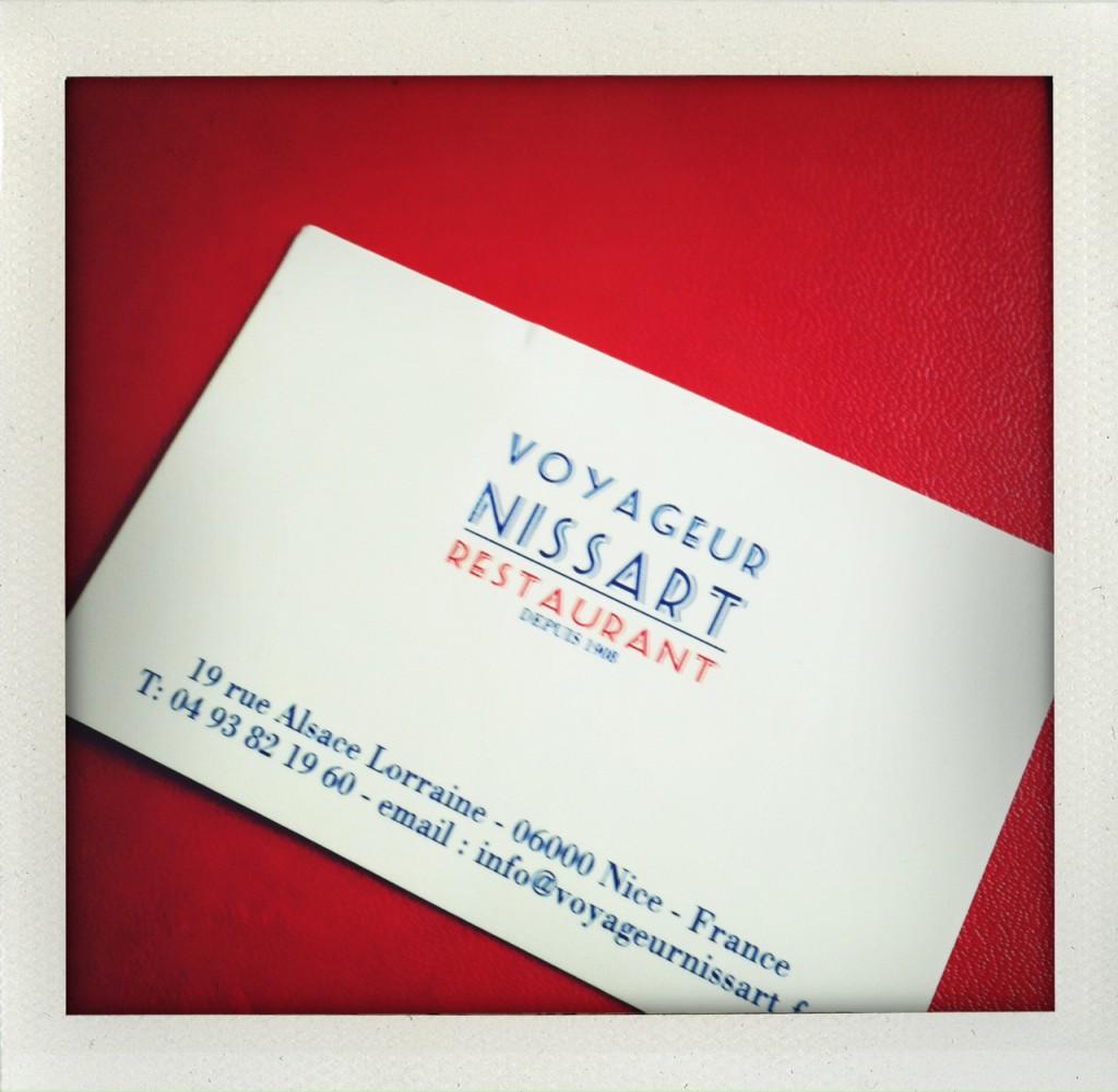 Voyageur nissart