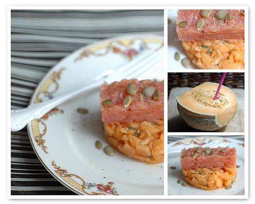 melone & salmone