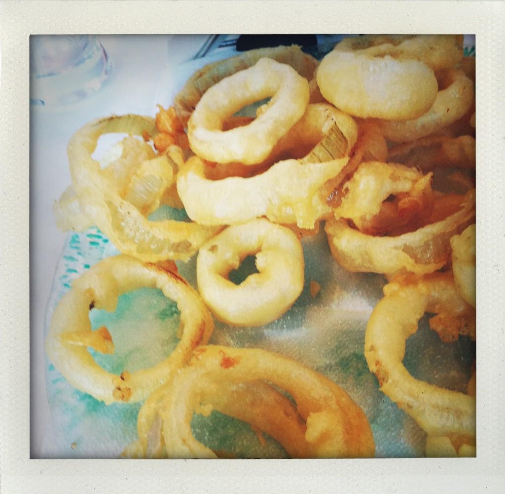 Le cipolle in pastella di Nicola