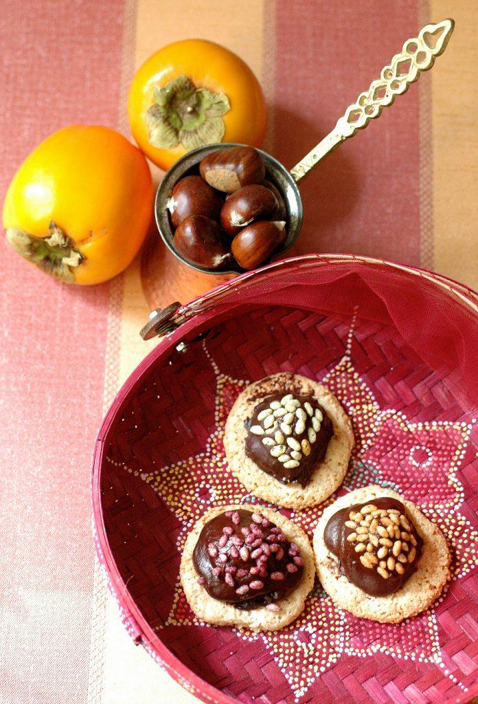 Sarah Bernhardts Macaroons & Crunchy