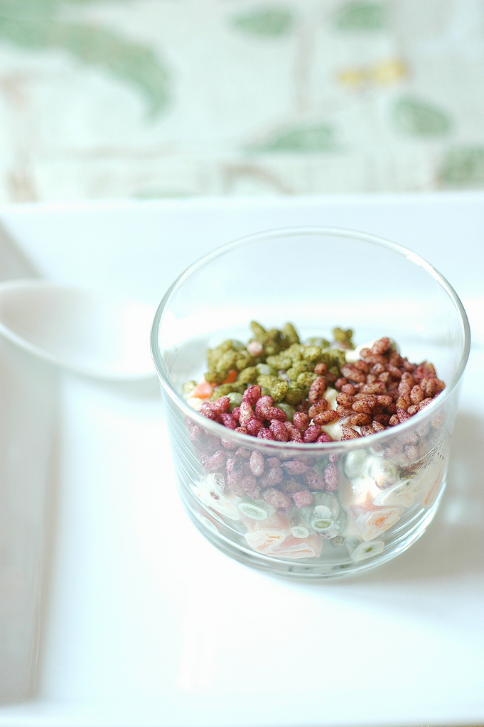 Insalata Russa 2.0 con Crunchy ai capperi, olive e pepe nero