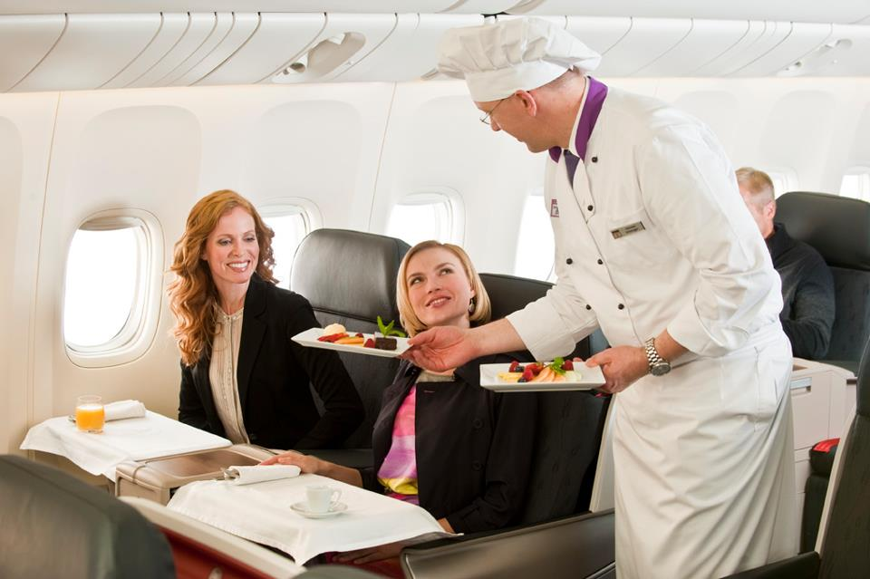 Flying chefs by Turkish Airlines