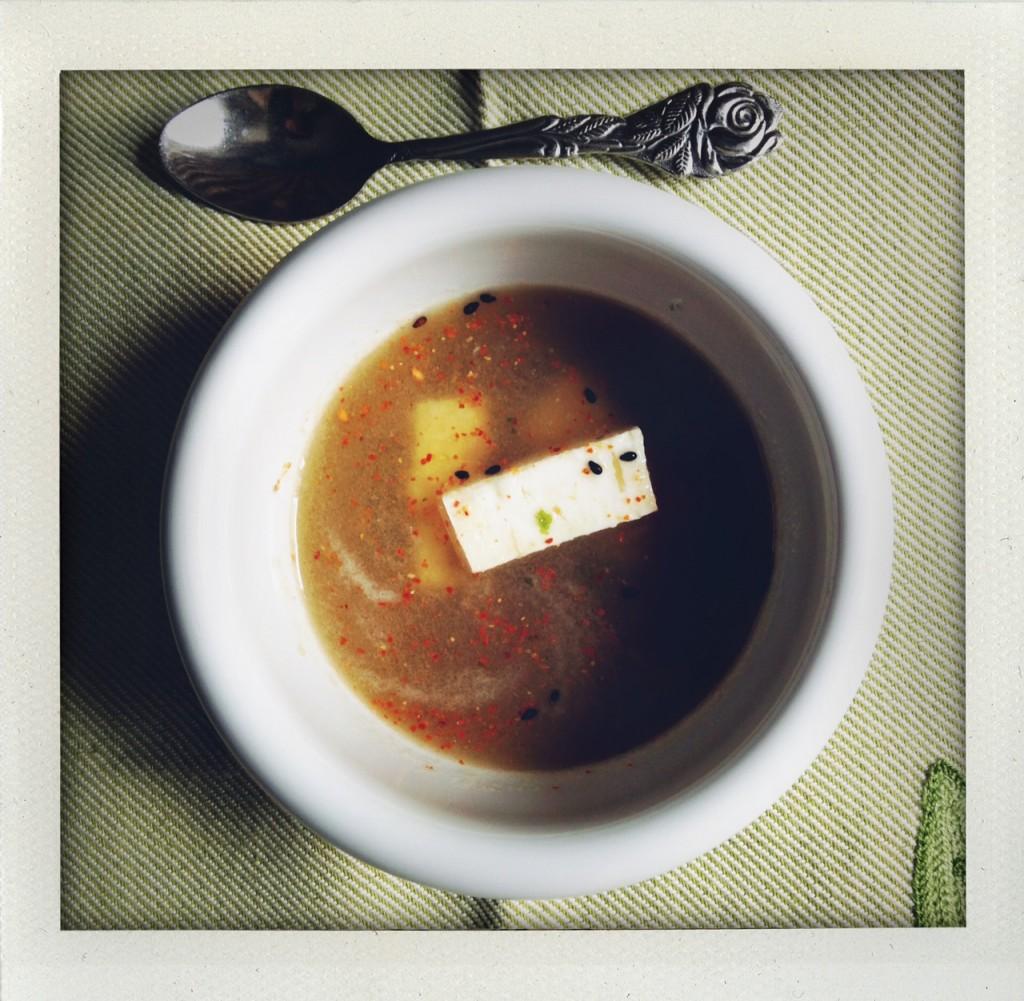 gazpacho aromatico finocchio cetriolo pomodoro