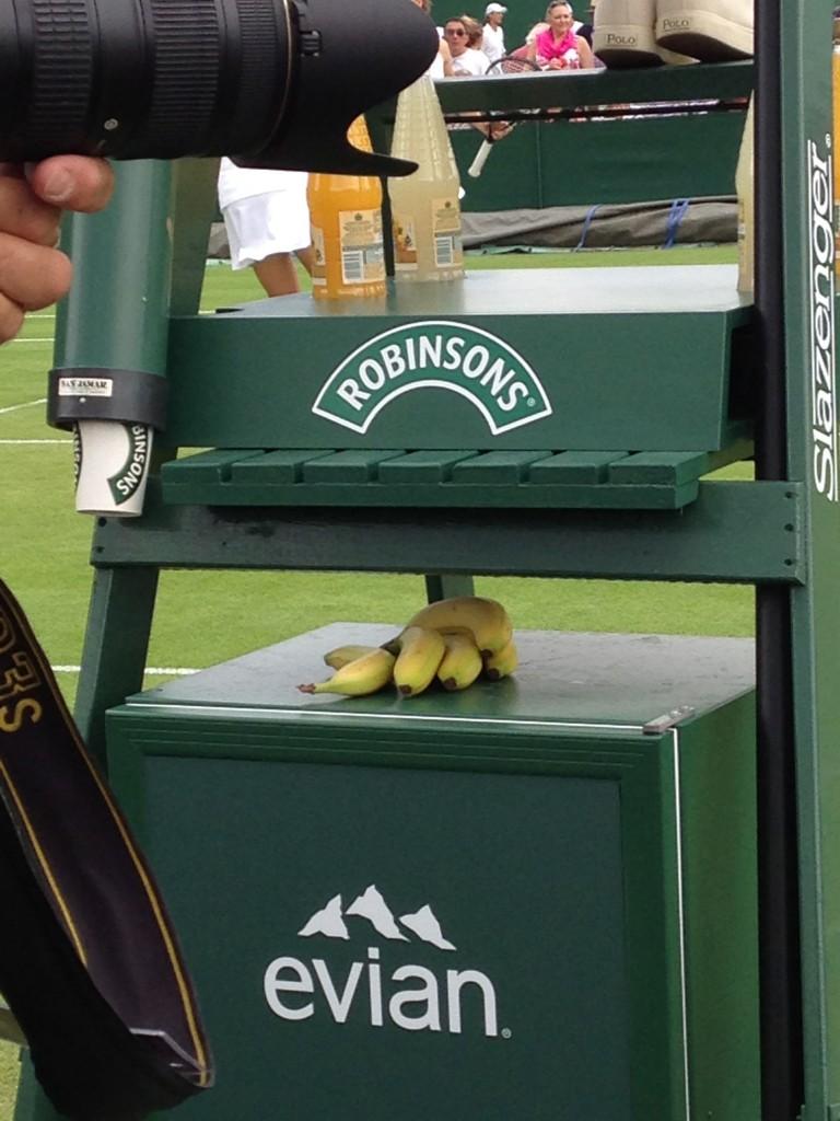 Wimbledon banane!