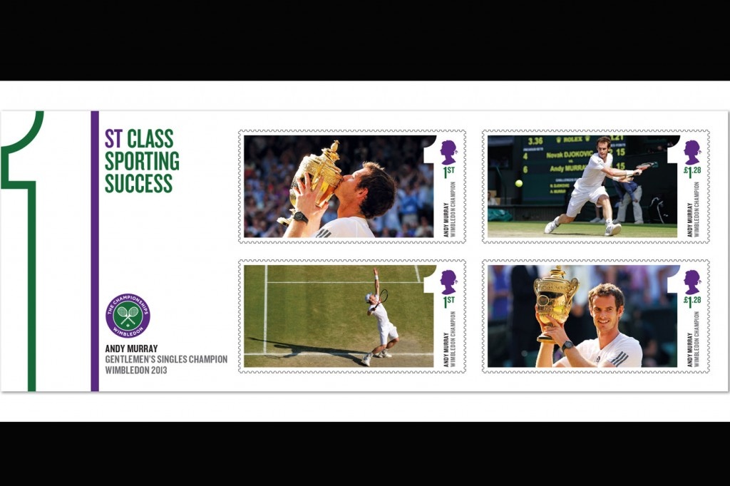 Royal Mail, Andy Murray Stamps