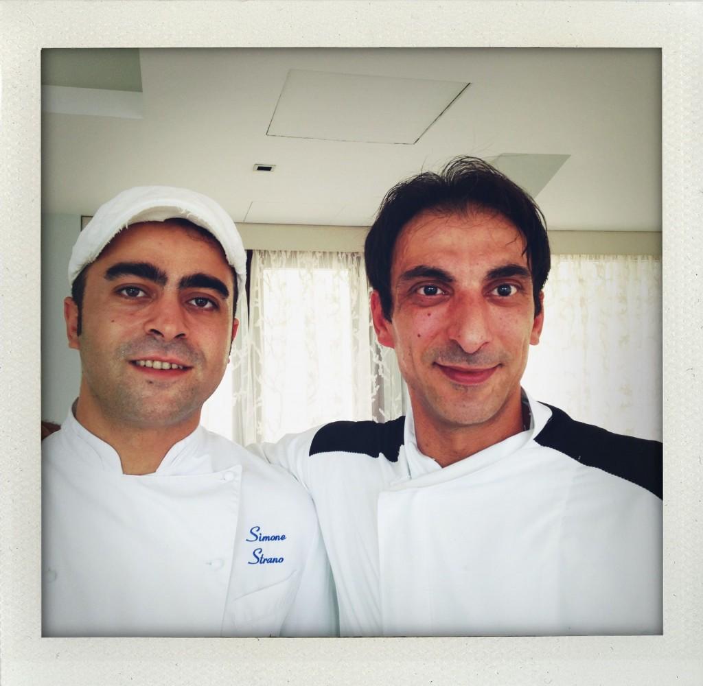 Chef Simone Strano e Giovanni Puglisi