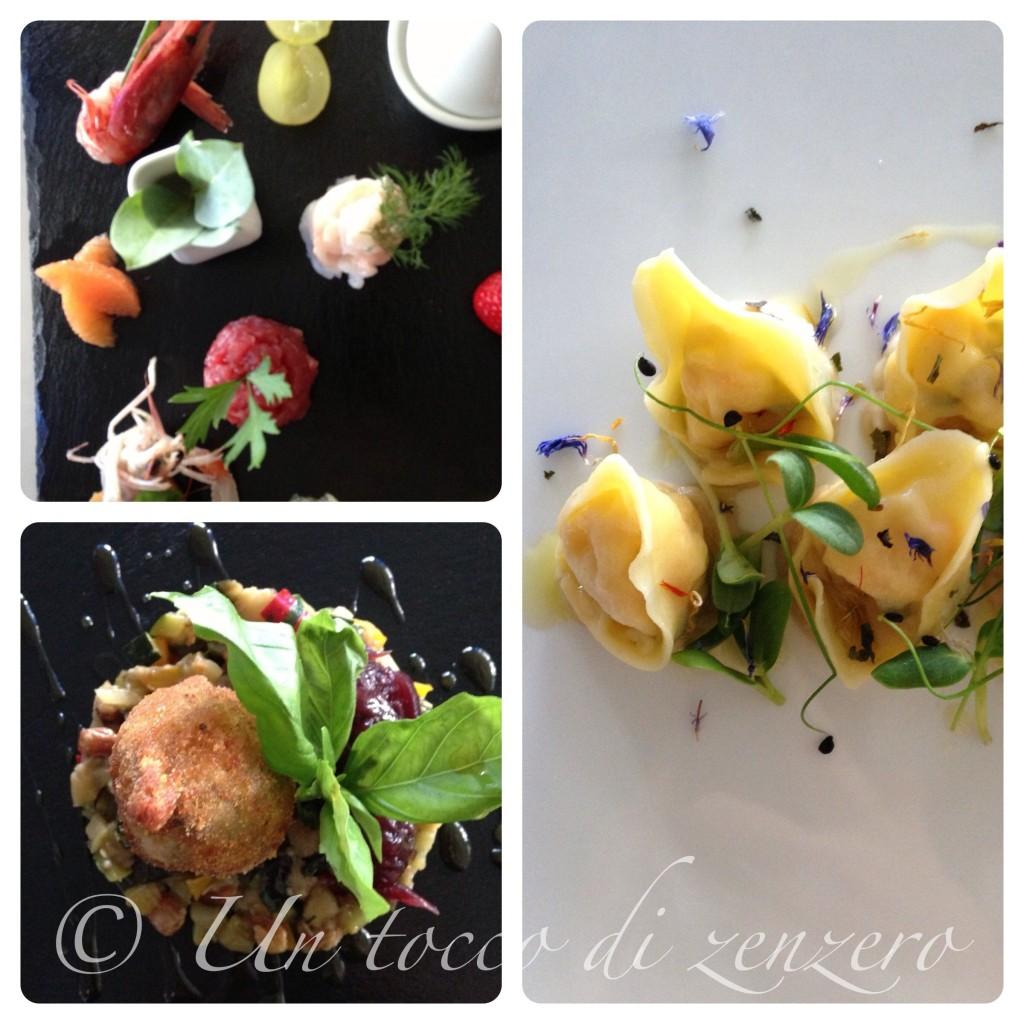 La Plage Resort collage food