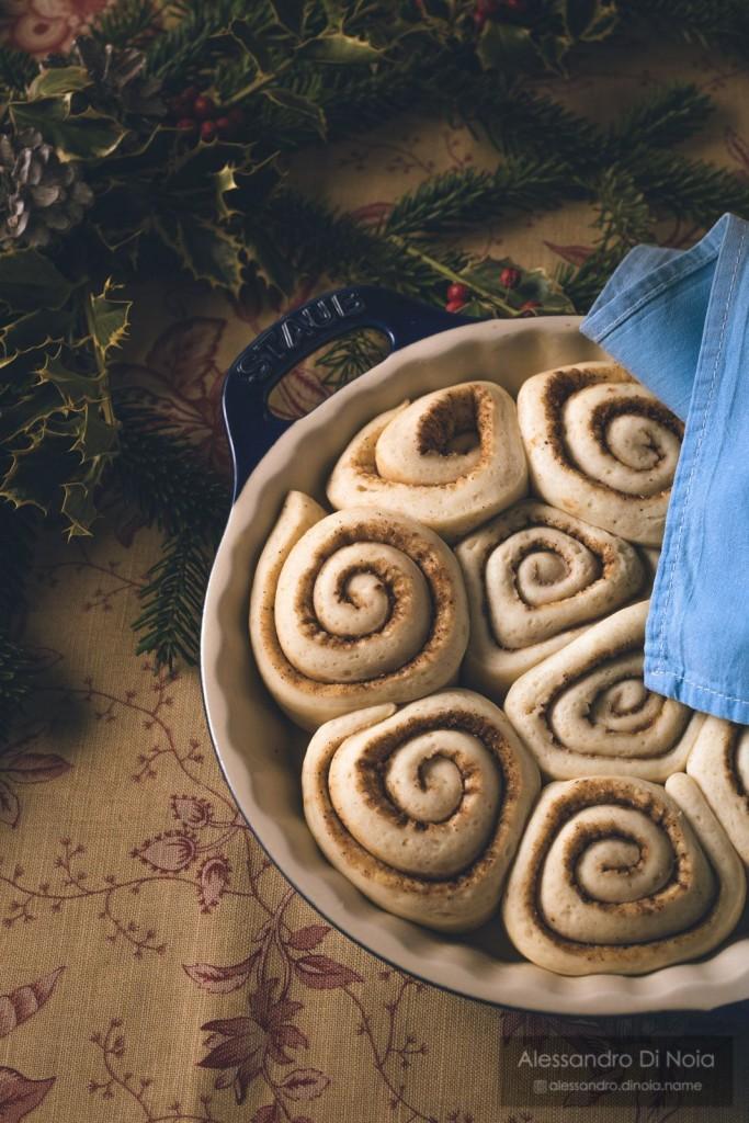 lievitazione cinnamom rolls