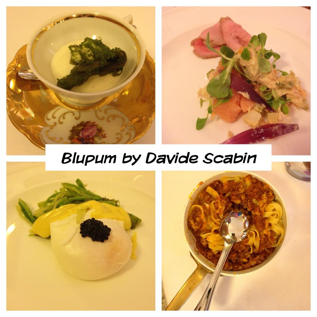 Blupum by Davide Scabin