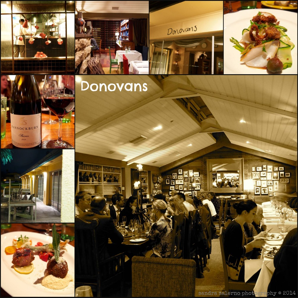 Donovans Dinner Collage