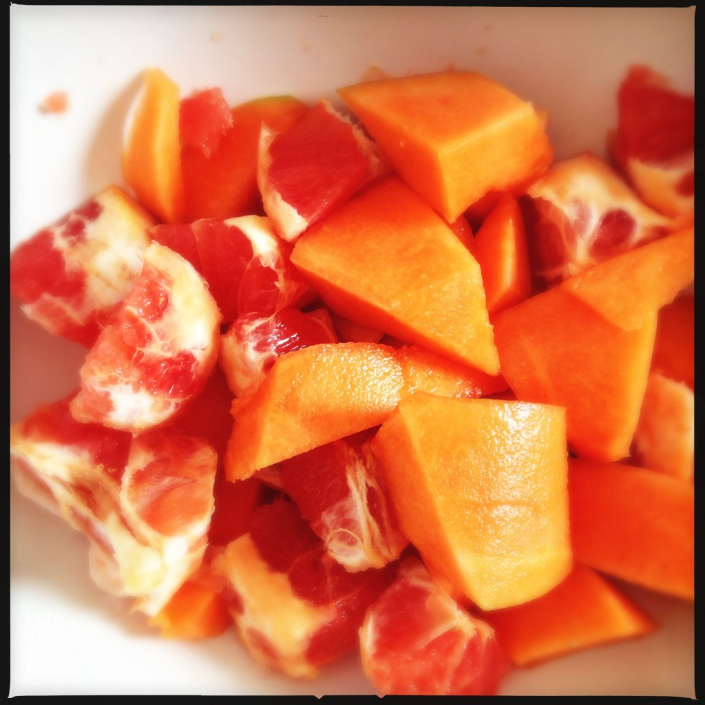 Pompelmo rosa pere melone zenzero e lime