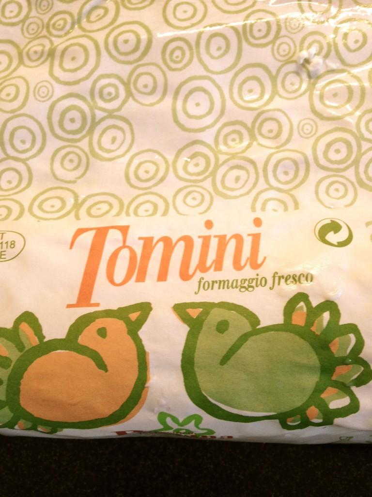 Tomini per crema torta