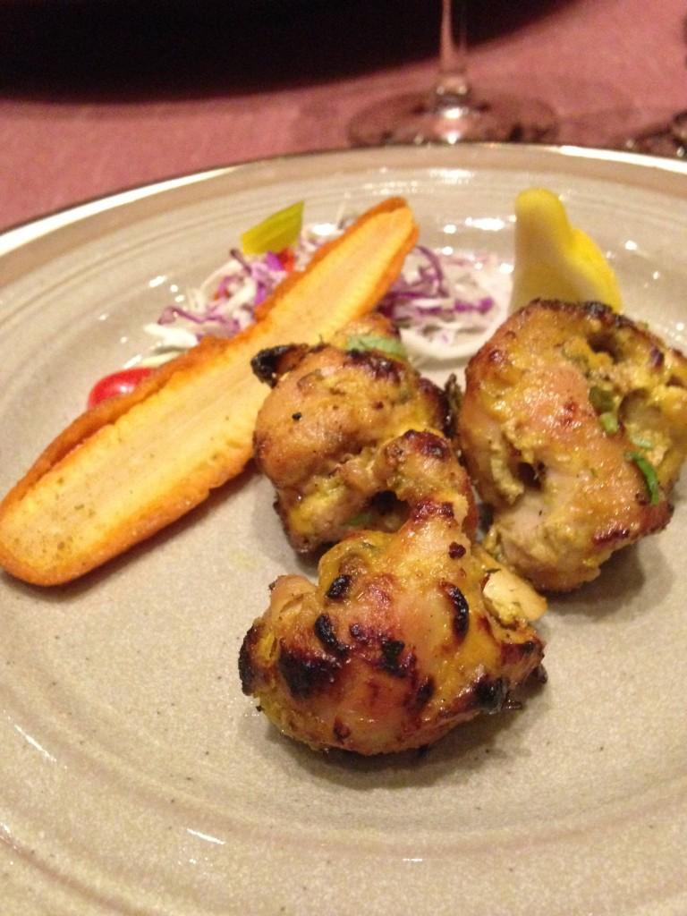 Cena Trou aux Biches Ristorante indiano