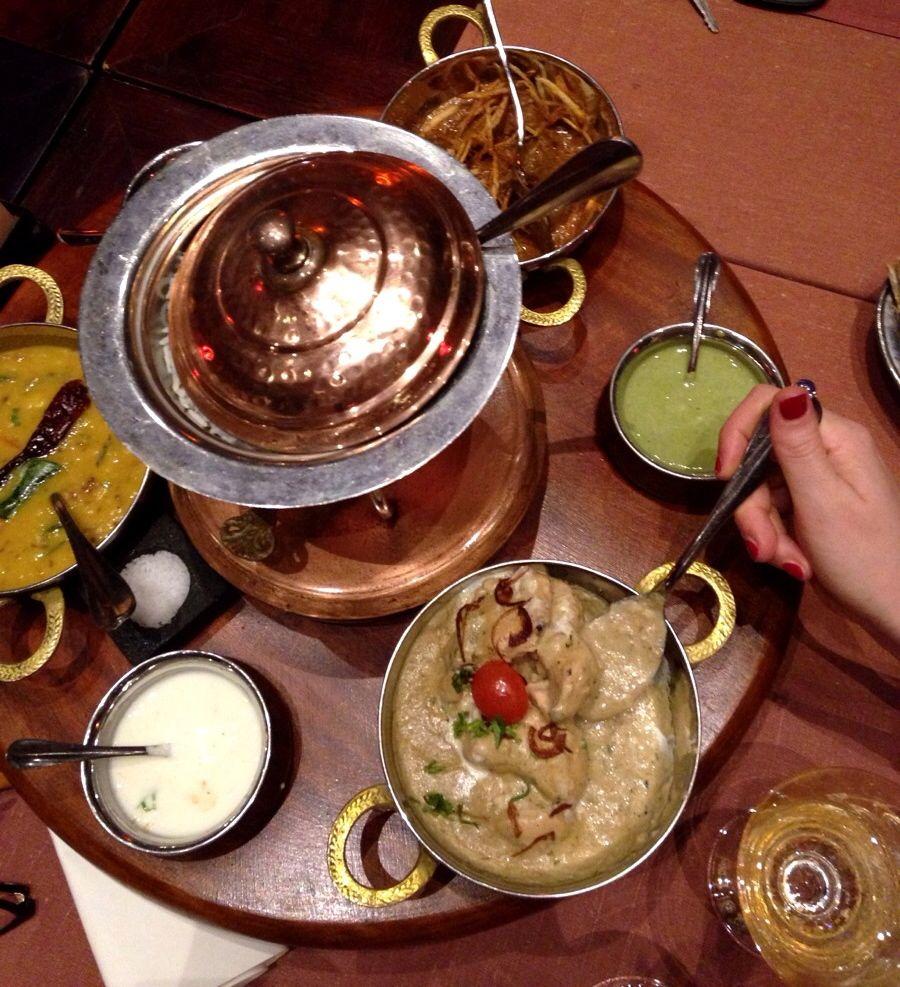 Cena indiana Trou aux biches