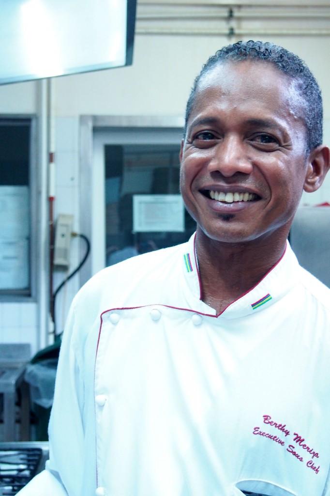 Chef Berthy - Dinarobin