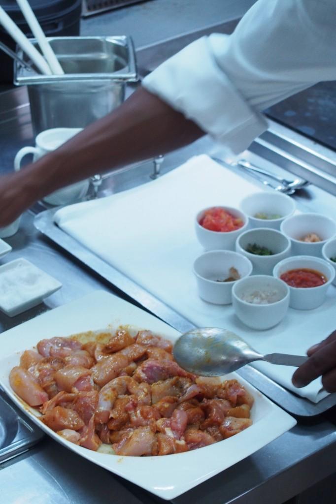 Corso di cucina al Dinarobin Beachcomber