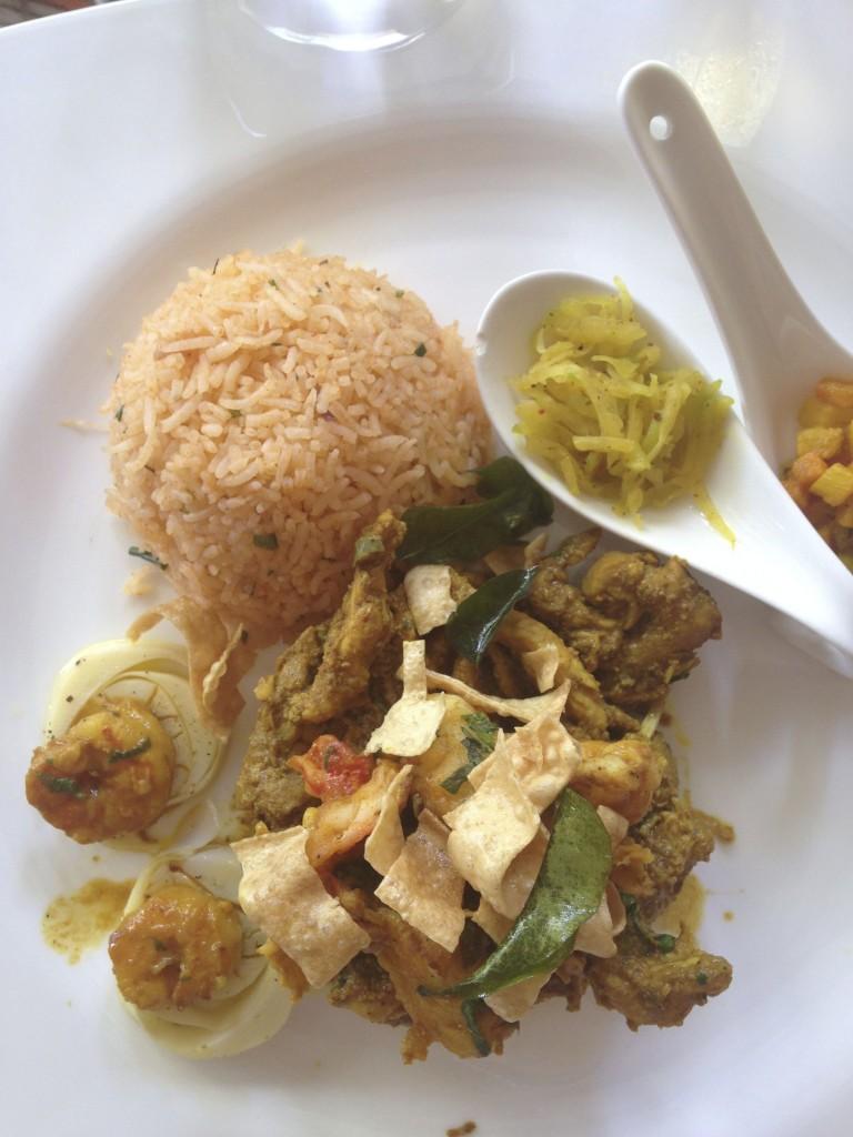 Lunch Rhumerie de Chamarel