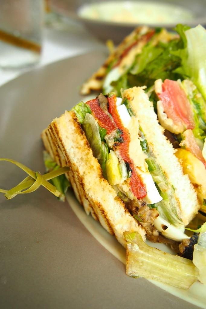 Club Sandwich at Riyal Palm, Mauritius