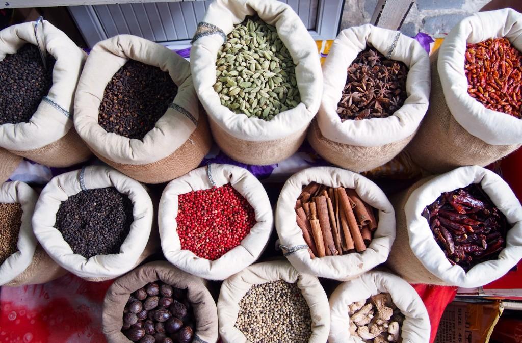 Mercato di Port Louis- Mauritius- Spezie
