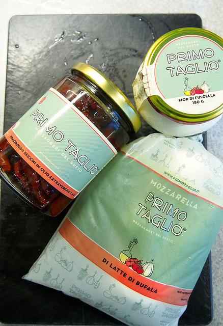 Primo Taglio Bufala Fior di Fuscella Pomodori secchi