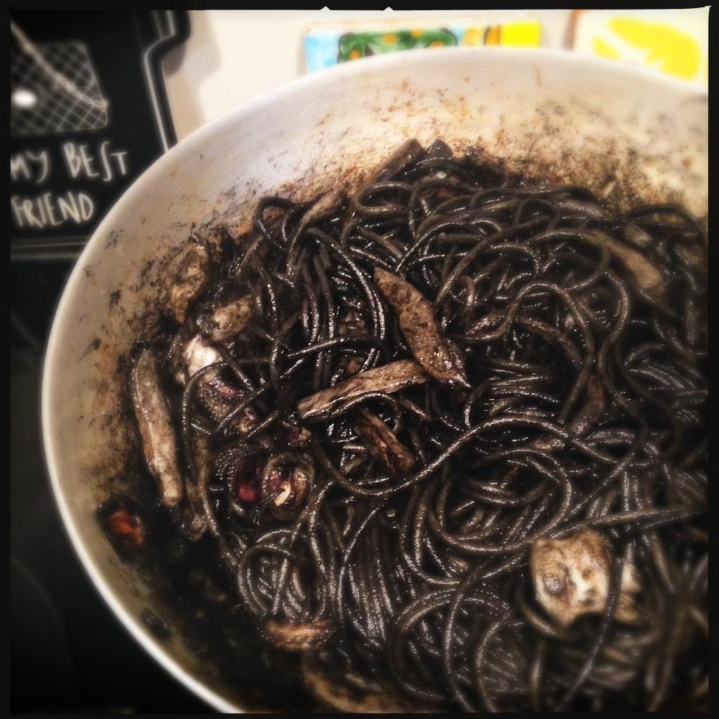 Spaghetti di kamut Monograno  Felicetti seppie