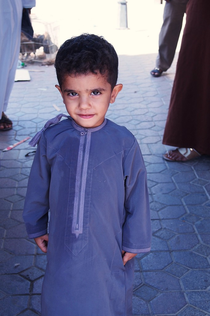 Portrait : Little Boy Nizwa Souq Oman