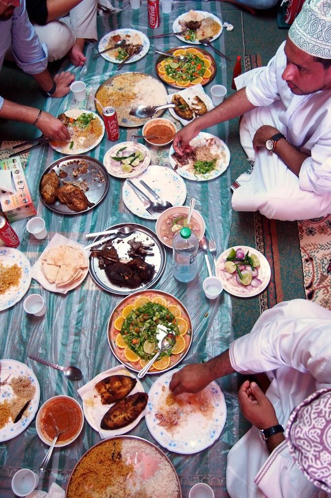 Pranzo tipico omanita