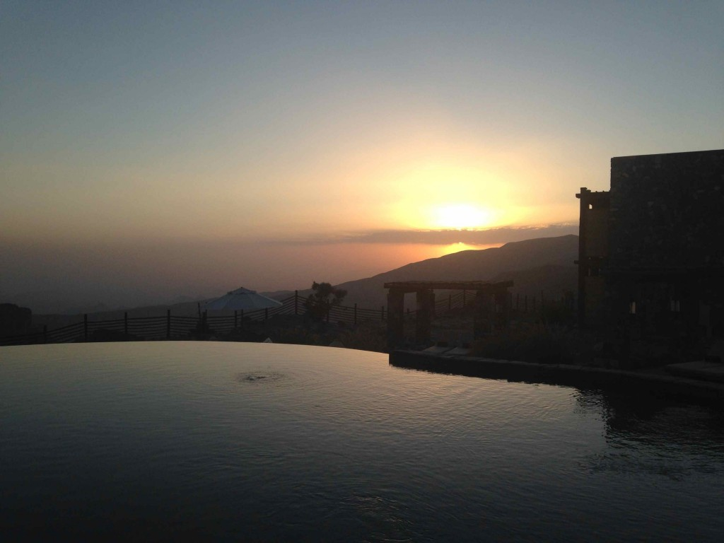 sunset Alila