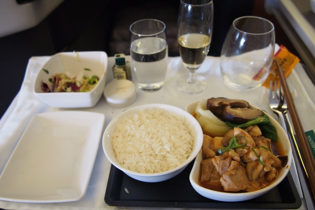 Lunch-Cathay-Pacific-Business-Class.