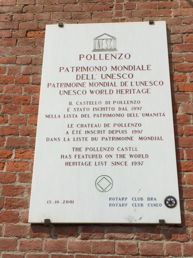 Pollenzo Unesco