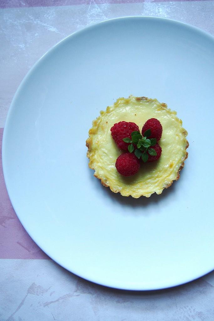 cheesecake al mascarpone con lamponi