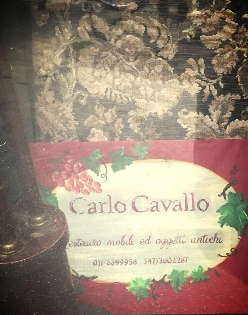 Carlo Cavallo Bottega di restauro Torino