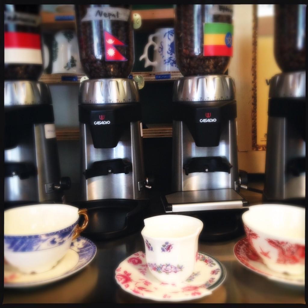 Selezione caffe monorigine