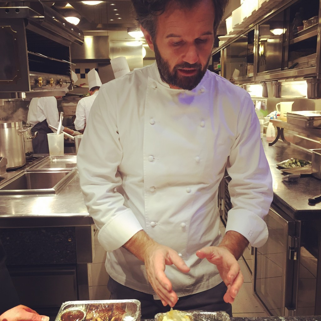 Panel Chef Singapore Airlines Carlo Cracco